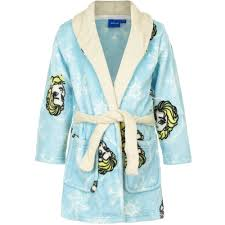 robe de chambre fille 8 ans peignoir la reine des neiges 8 ans robe de chambre enfant bleu