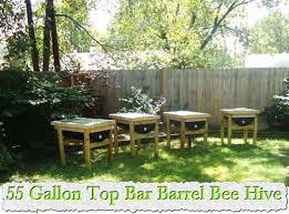 How To Make A Top Bar Beehive 55 Gallon Top Bar Barrel Bee Hive