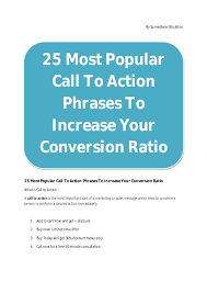 25 most popular call to phrases to increase your conversion ra