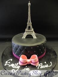 eiffel tower birthday cake google search cakes pinterest