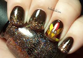 amber did it gobble gobble mom and daughter turkey nails