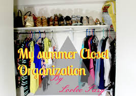 how to summer closet organization youtube