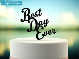 best cake toppers best day black wedding cake topper original cake toppers