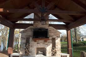 Rustic Gazebo Ideas by Gazebos Pavilions Pergolas Aliquippa Pa Pools Spas And More Decks