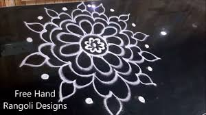 easy muggulu without dots easy rangoli designs without dots