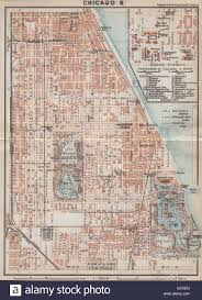 Chicago City Map by Chicago City Plan South Side Woodlawn Washington Jackson Hyde
