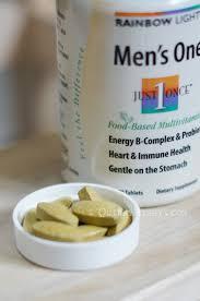 rainbow light vitamins mens rainbow light just once food based vitamins for men and women