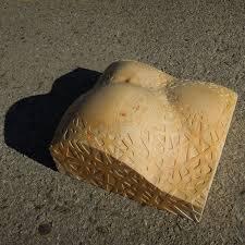 cedar wood sculpture by sculptor liliya pobornikova titled