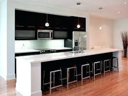 kitchen without island one wall kitchen with window one wall kitchen with island designs
