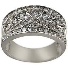 dacarli diamond wedding ring vintage wedding ring art deco ring