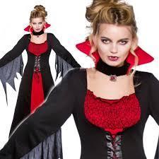 Dracula Halloween Costume Ladies Classic Vampiress Bride Dracula Halloween Fancy