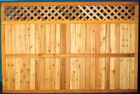 wood lattice wall 5 4 x 8 cedar lattice top fence panel at menards