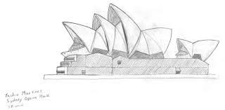 House Drawings by Sydney Opera House By Tashio190 On Deviantart