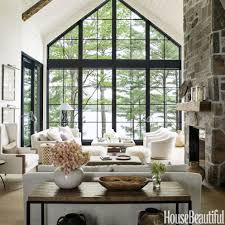 lake home interiors home tour hepfers rustic modern lake house lakes model home