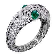 white gold jewelry bracelet images Crhp601227 high jewelry bracelet white gold emeralds onyx png