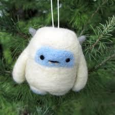 shop felted wool ornaments on wanelo