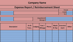Expense Report Excel Template Expense Report Excel Template Exceldatapro