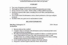 Esthetician Sample Resume by Esthetician Resume Example Salon U0026 Spa U0026 Fitness Sample Resumes