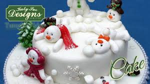 Youtube Christmas Cake Decorations by Sugar Buttons Snowman Mould For Cake Decorating Youtube