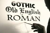 basic gothic letters