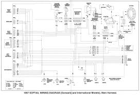 harley davidson sportster wiring diagram with electrical 5165
