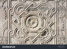 architectural detail venice italy decoration on stock photo