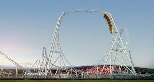 in abu dhabi roller coaster flying aces set to take at abu dhabi