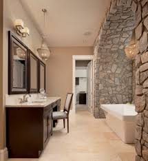 Interior Stone Arches Bathrooms Montana Rockworks