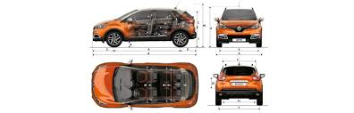 renault captur sizes and dimensions guide carwow