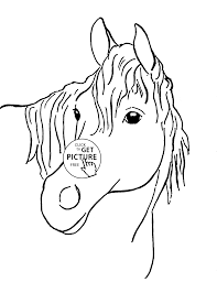 28 horse face coloring page horse face colouring pages page 3