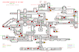 White Castle Locations Map Castlevania Symphony Of The Night Psx Maps