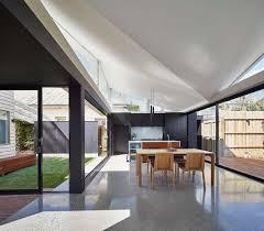 shotgun home modern interior natural lighting