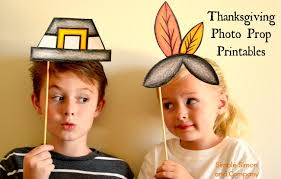 thanksgiving photo booth props photobooth props printable patterns simple simon and