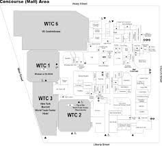 Map Of Mall Of America by The Mall At The World Trade Center New York New York Labelscar