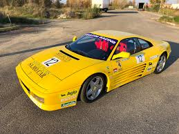 ferrari yellow car ferrari challenge and gt cars for sale
