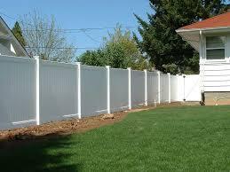 vinyl fence u2013 fitzpatrick fence and rail