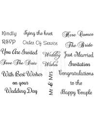 wedding sentiments personal impressions wedding messages clear st set the