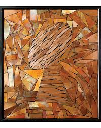 abstract football wall sculpture home of copper art