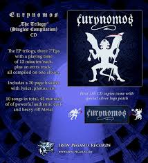 eurynomos the trilogy singles cd patch iron pegasus records