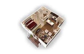 3d model floor plan residences