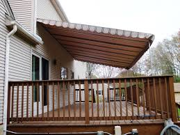 Awning Ideas Permanent Deck Awnings Ideas Three Dimensions Lab