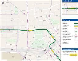 Metra Rail Map Chicago Green Line Map Jpg