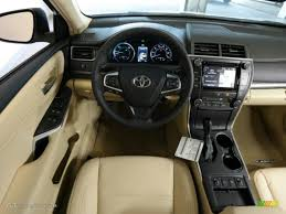 2015 Camry Le Interior 2015 Creme Brulee Mica Toyota Camry Hybrid Xle 98566649 Photo 12