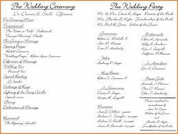 exles of wedding program wording 100 exle of wedding programs best quotes for wedding