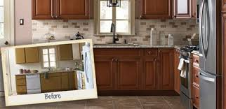 Refinished Kitchen Cabinets Kitchen Awesome How To Reface And Refinish Cabinets Tos Diy Plan