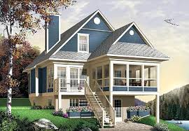 house plans sloped lot lakefront home plans lake house plans sloping lot high
