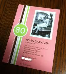 80th Birthday Invitation Cards Georgious 80th Birthday Invitations Party City Birthday Party