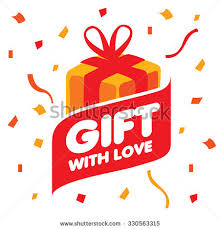 abstract vector logo box gifts design stock vector 330563315
