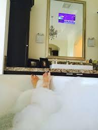 Tv In Mirror Bathroom by 17 Best Mirrored Tv Ideas Images On Pinterest Mirror Tv