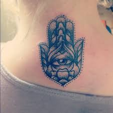 cool hand tattoos cool hamsa hand neck tattoo tattoomagz